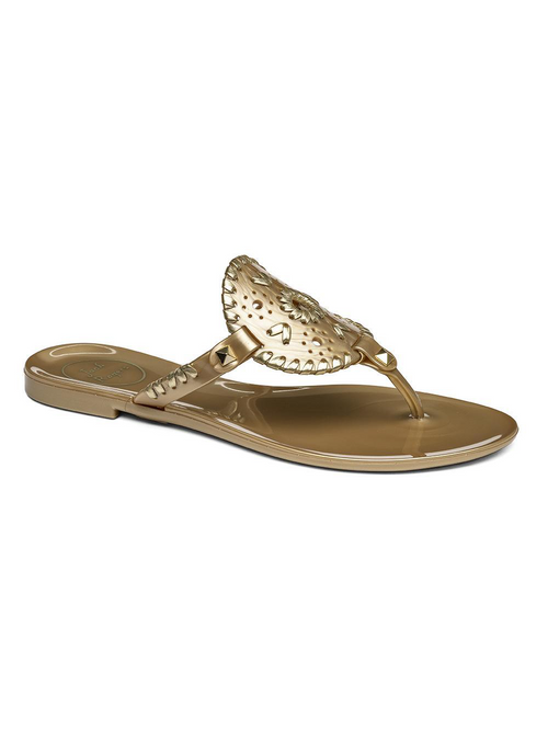 Georgica Jelly Sandal - Gold