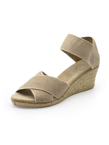 Effie Block Heel - Taupe