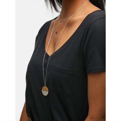 Two-Tone Contempo Necklace