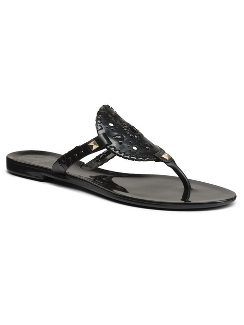 Georgica Jelly Sandal - Black