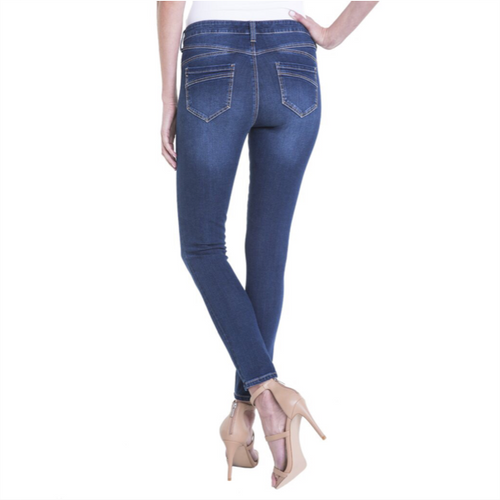 Piper Huger Ankle Skinny - Lynx Wash