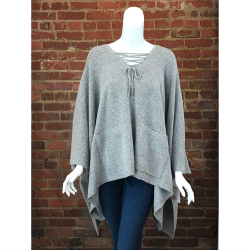 Jocelyn Poncho - Grey