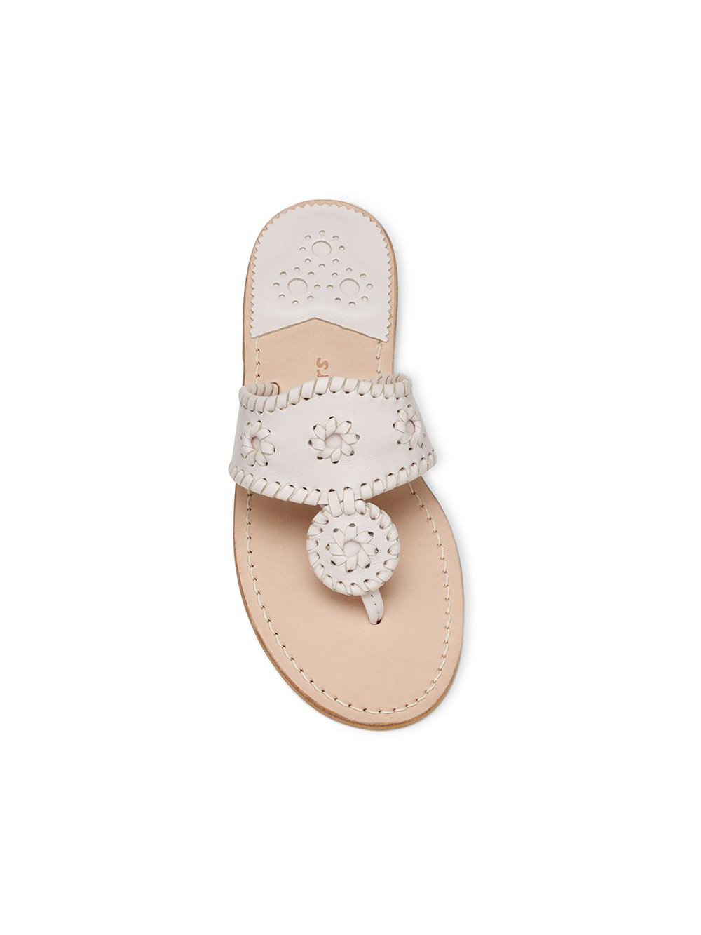 Jacks Flat Sandal - Pale Blush