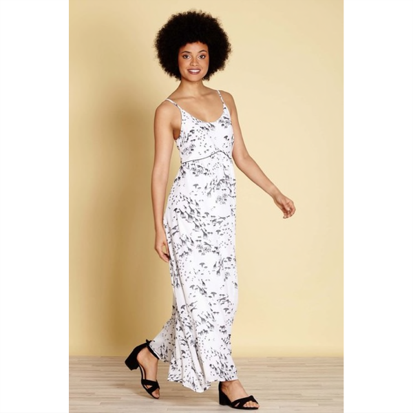 Serengeti Print Maxi Dress