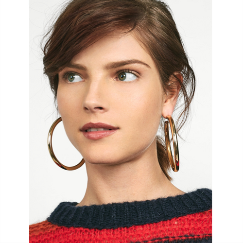 Penelope Hoop Earrings - Gold