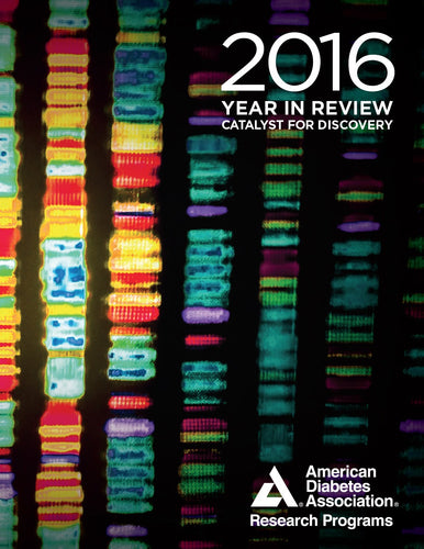 American Diabetes Association Research Programs: 2016 Year In Review