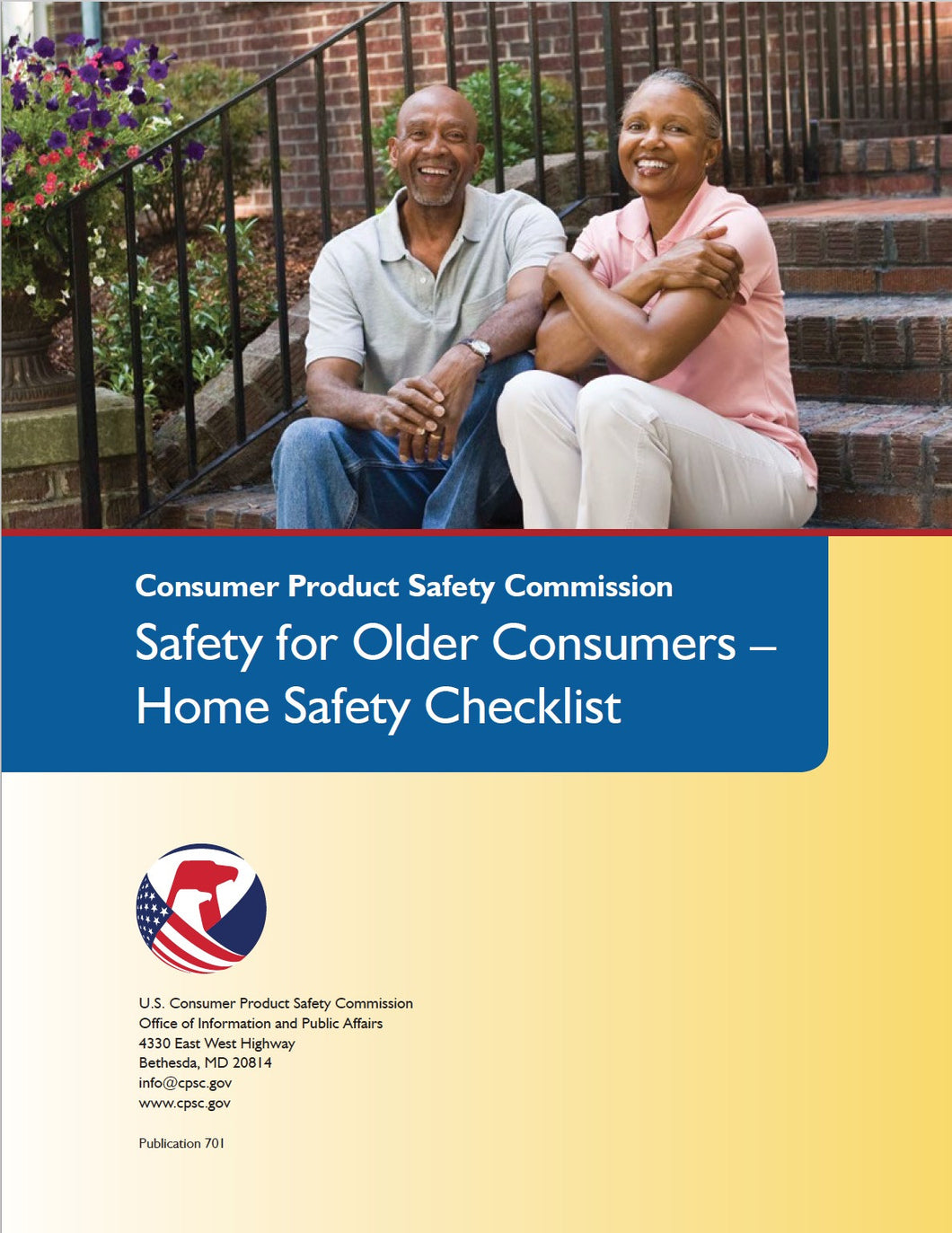 Safety for Older Consumers - Home Safety Checklist