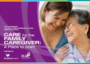 Care for the Family Caregiver | National Alliance of Caregivers