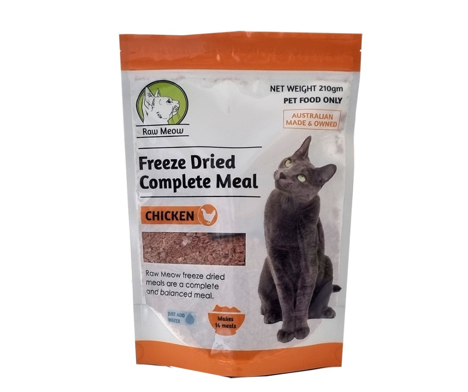 Raw Meow Mix KITTEN - Lamb Liver