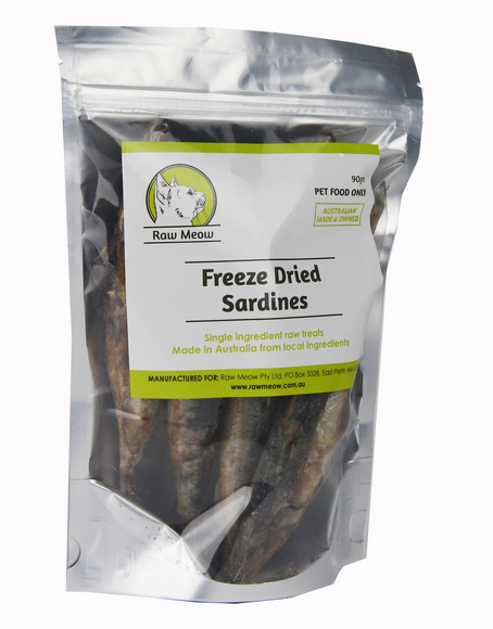 Freeze Dried Raw Sardines