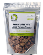 Freeze Dried Raw Lamb Tongue