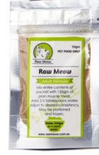 Raw Meow Mix Adult - Chicken Liver