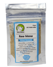 Raw Meow Mix Kitten Formula