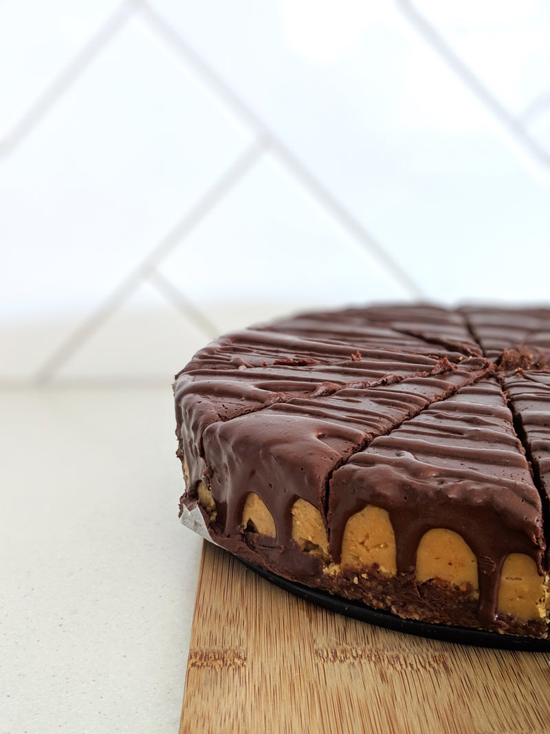 """Snickers"" Cake (Full size or Mini) - Fit Fast Food Geelong"