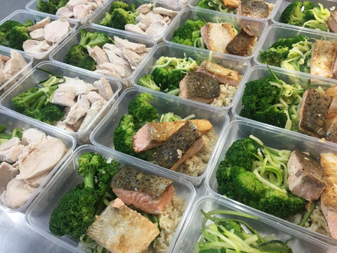 Custom Weighed Meal - Fit Fast Food Geelong