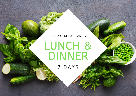 C L E A N | 7 Days | 14 REG MEALS - Fit Fast Food Geelong