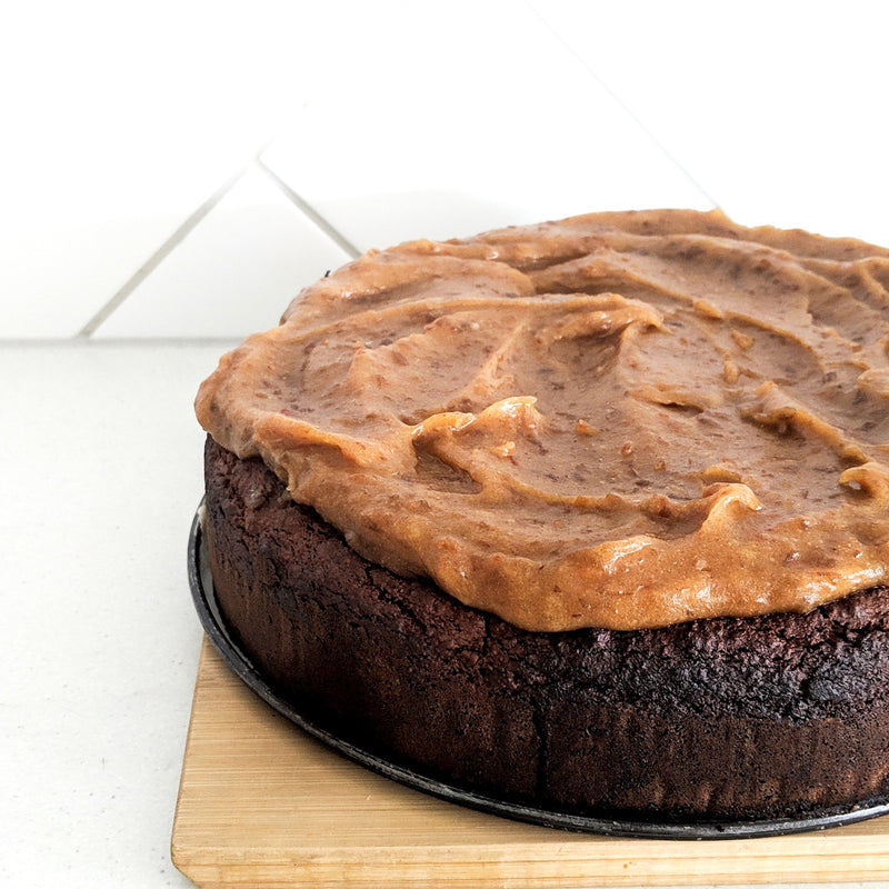 Baked Sticky Date Cake - Fit Fast Food Geelong