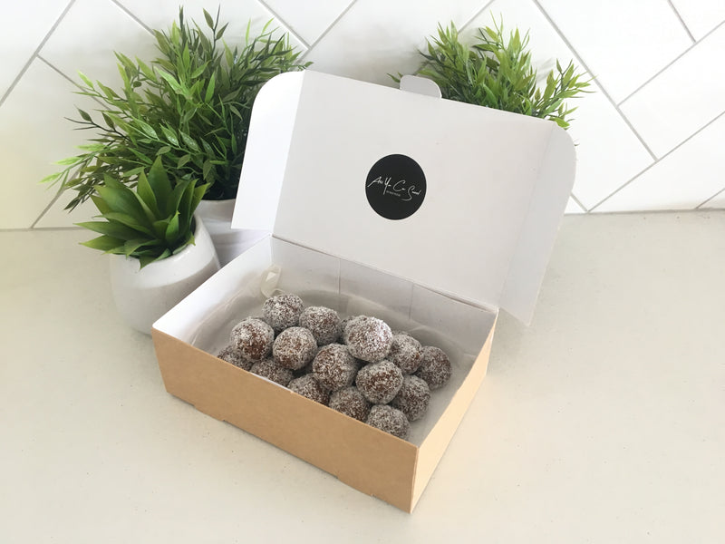 Choc-Coconut Protein Ball x 24 (freezable) - Fit Fast Food Geelong
