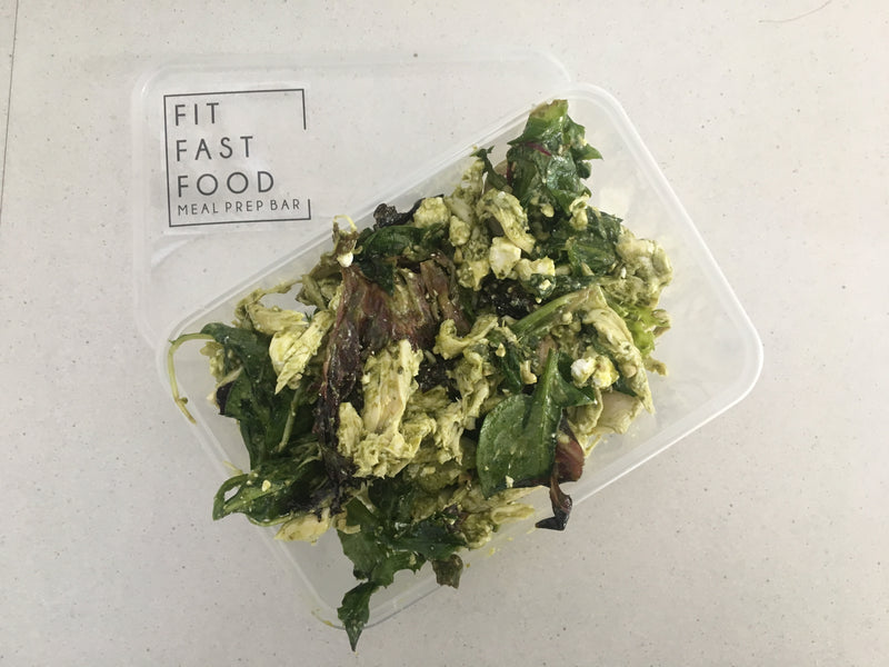 Chicken Pesto Salad - Fit Fast Food Geelong