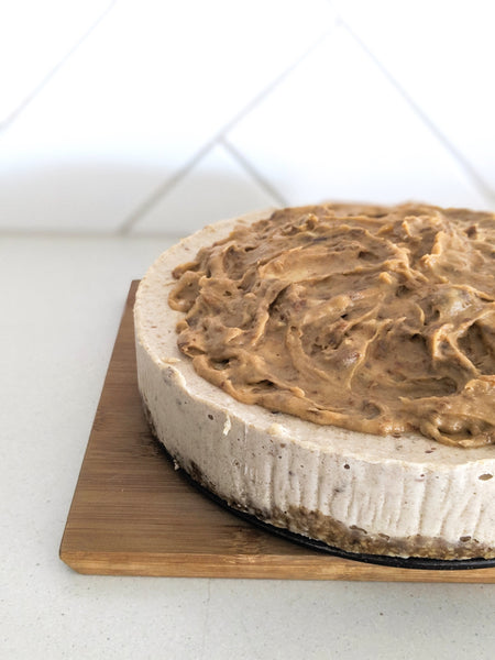Banoffee Pie Cake - Fit Fast Food Geelong