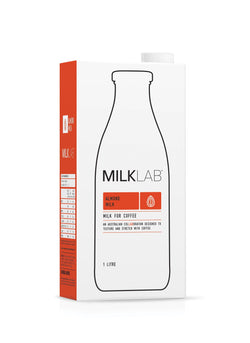 MilkLab Almond Milk 1L - Fit Fast Food Geelong