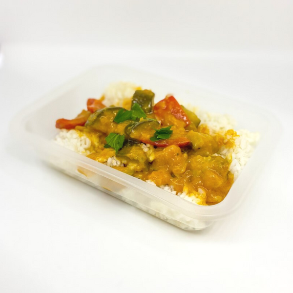 Vegetarian Thai Red Curry - Fit Fast Food Geelong