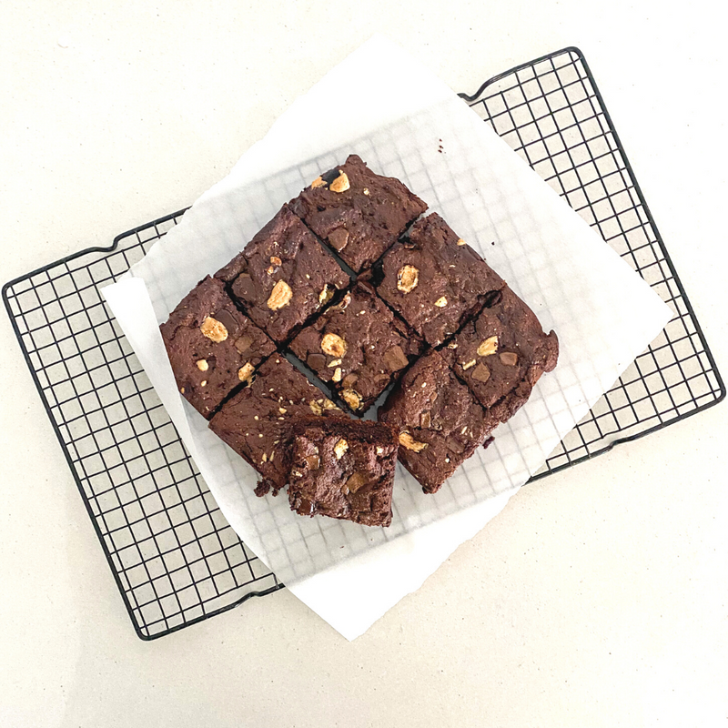 Triple Chocolate Brownies (vegan + gf) - Fit Fast Food Geelong