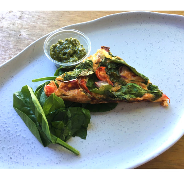 Low Carb Breakfast Frittata (gf) (keto) - Fit Fast Food Geelong