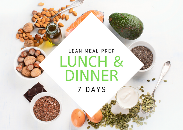L E A N | 7 Days | 14 REG MEALS - Fit Fast Food Geelong