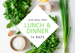L E A N | 14 Days | 28 REG MEALS - Fit Fast Food Geelong