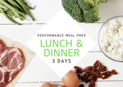 PERFORMANCE | 3 Days - Fit Fast Food Geelong