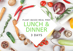 P L A N T | 3 Days | 6 REG MEALS - Fit Fast Food Geelong