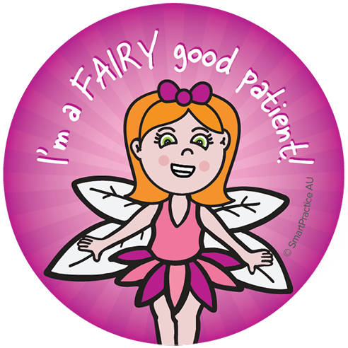 Fairy good patient Sticker