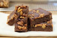 Brownies:  Walnut Chocolate Chip