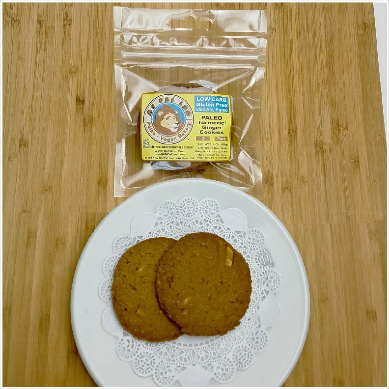 Ginger Turmeric Almond Cookies