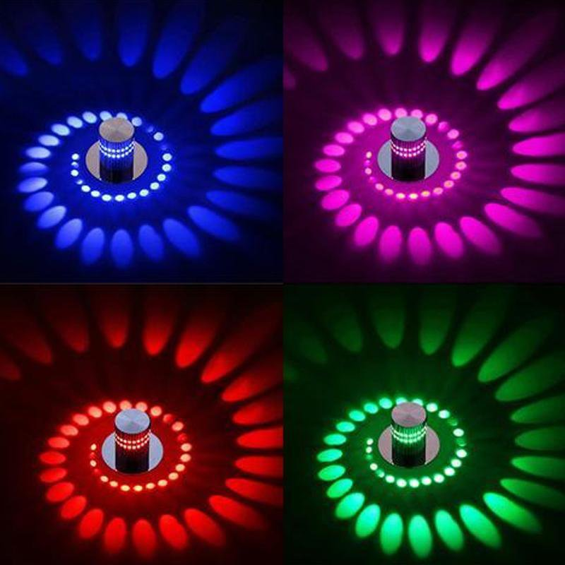 LED Spiral Wall Lamp - Gadget City Club