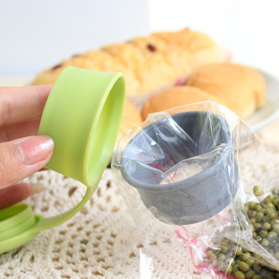 Plastic Bag Cap Food Storage - Gadget City Club