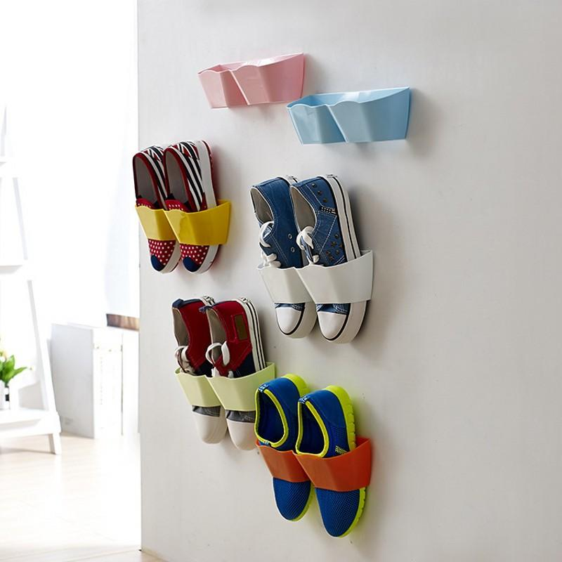 Wall-Mounted Shoe Storage - Gadget City Club