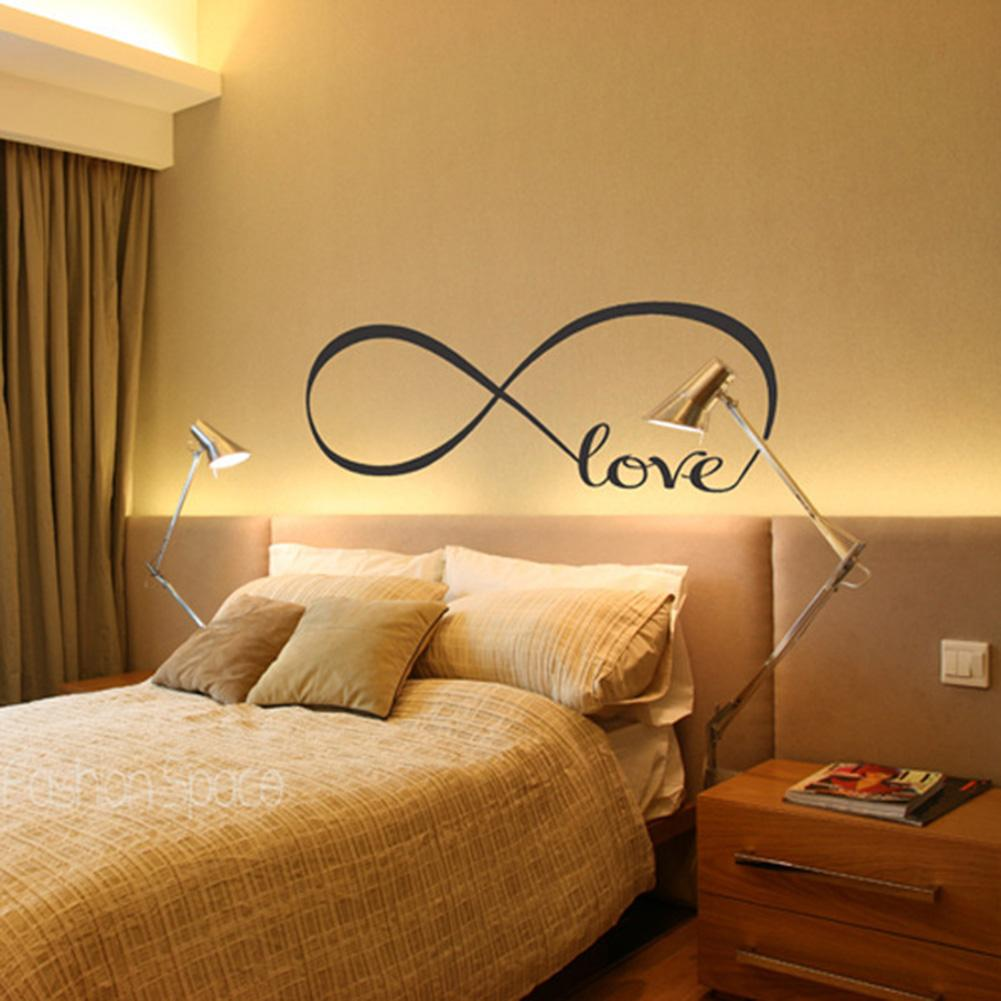 Infinite Love Bedroom Wall Decal - Gadget City Club