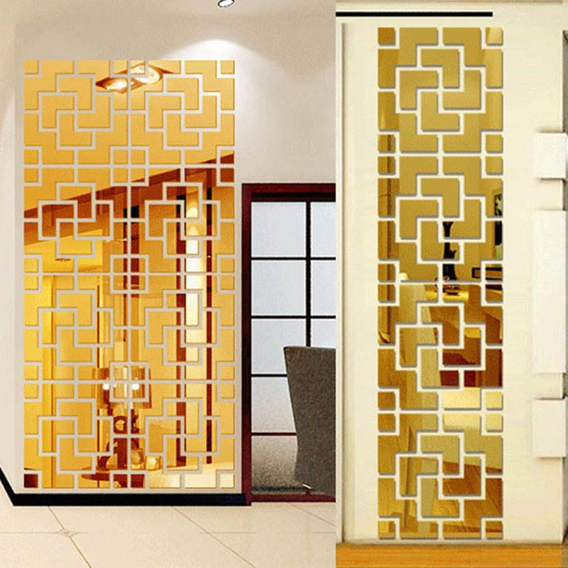 3D Mirror Wall Sticker - Gadget City Club