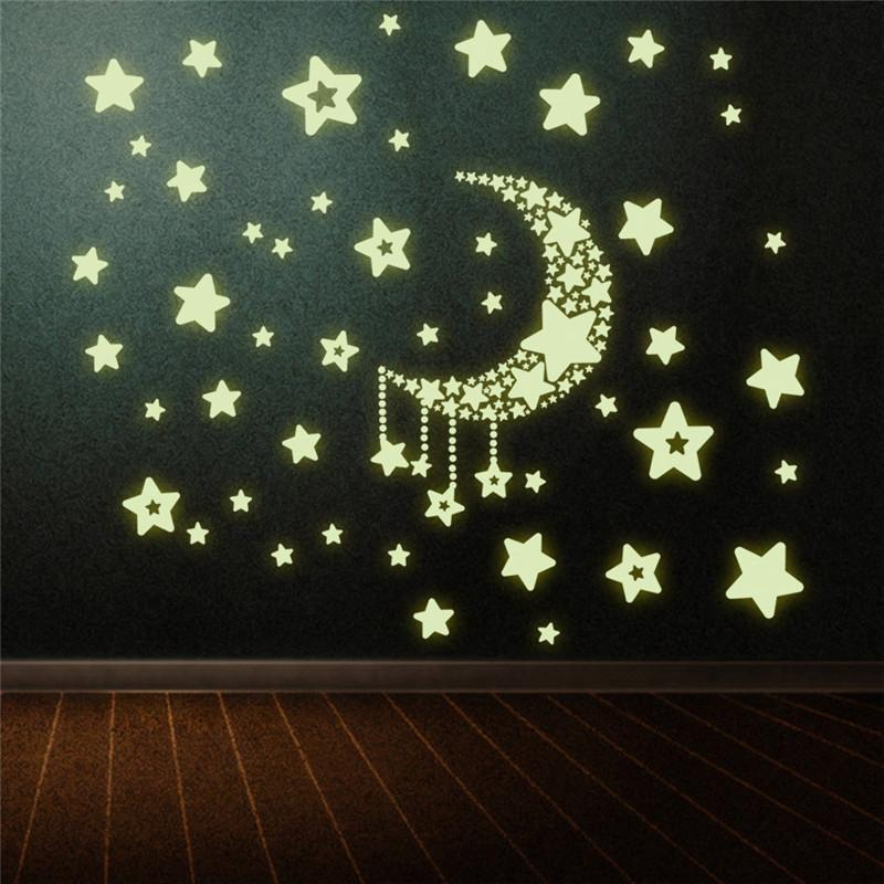 Glow In The Dark Wall Stickers - Gadget City Club