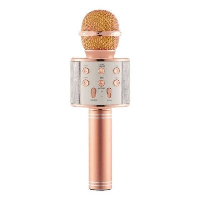 Bluetooth Wireless Karaoke Microphone - Gadget City Club