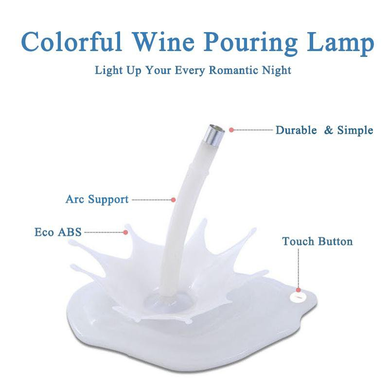 Wine Pouring Lamp - Gadget City Club
