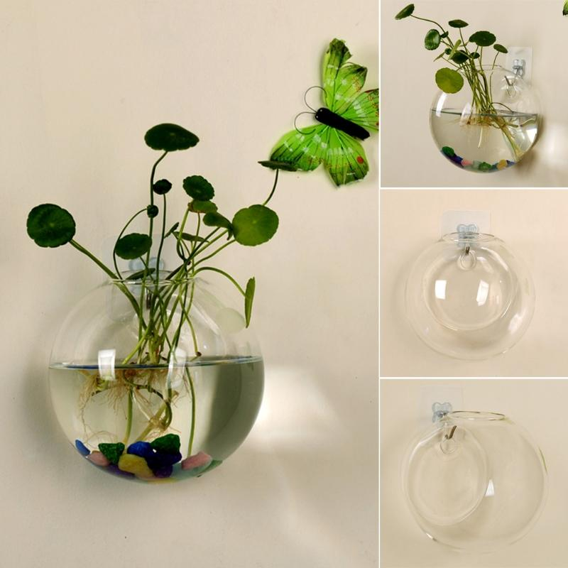 Hanging Glass Wall Vase - Gadget City Club