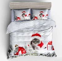 Christmas Pet Duvet Cover Set