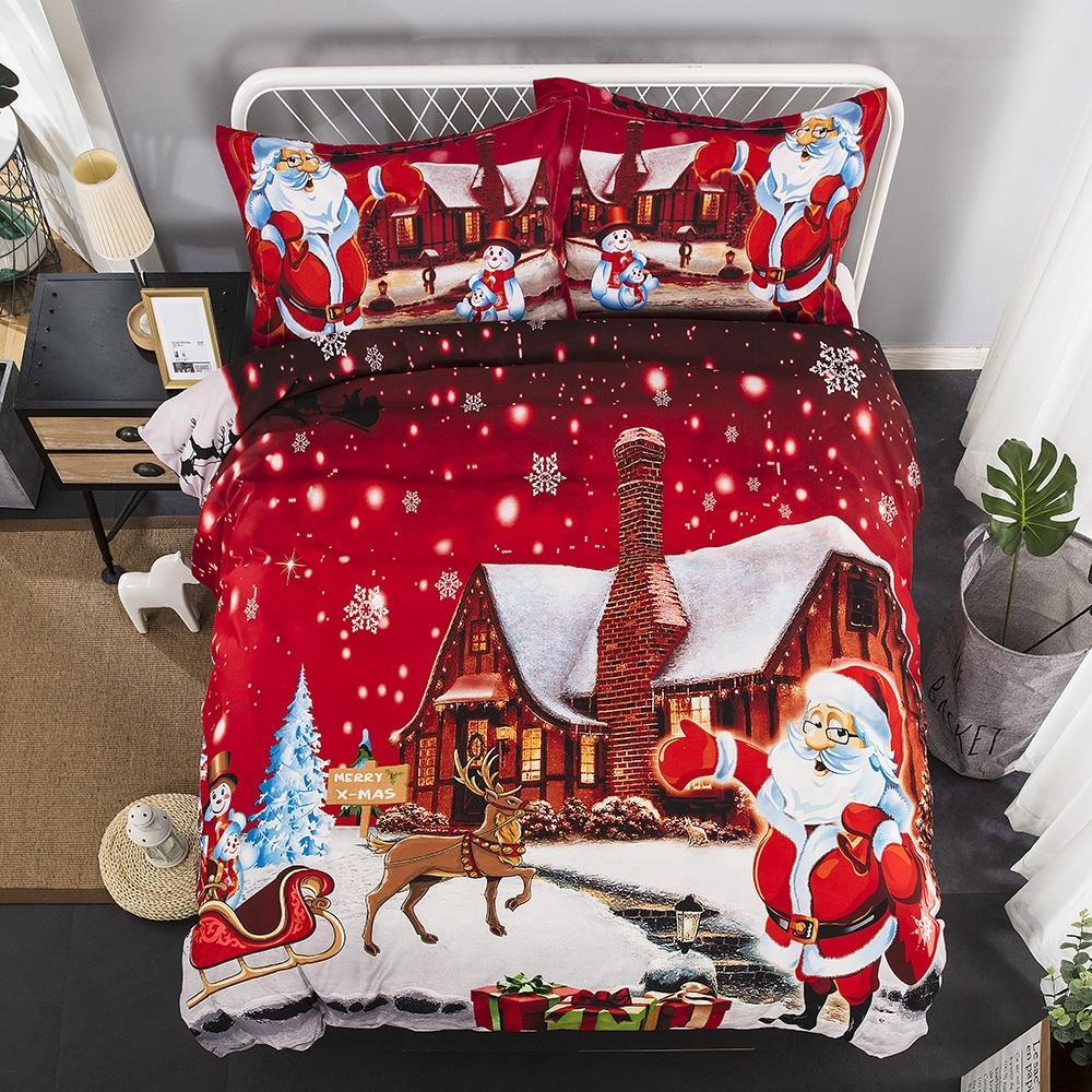 North Pole Santa Duvet