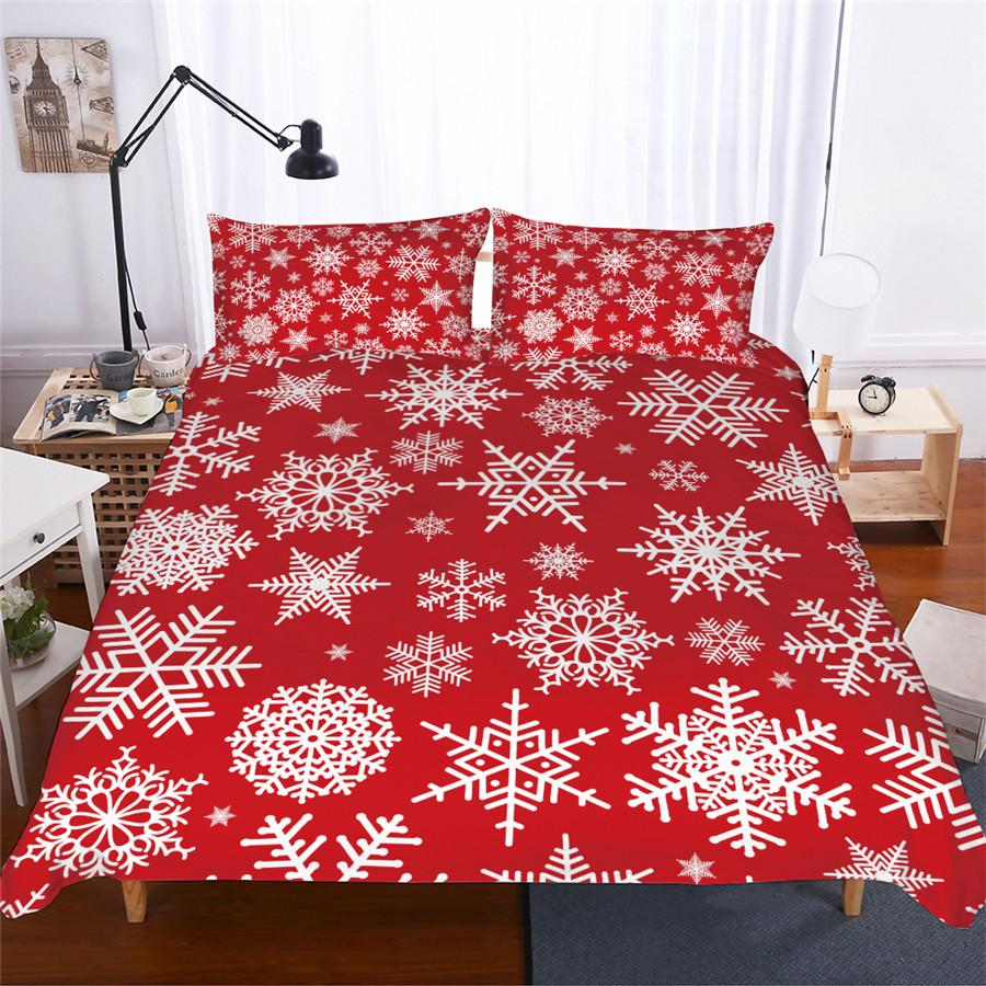 Winter Snowflake Duvet Set