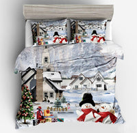 Winter Snowman Duvet Set