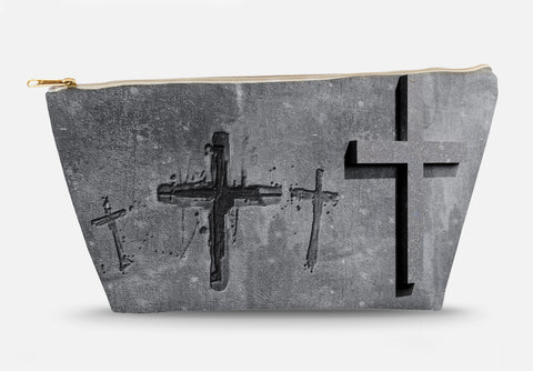 Stone Cross Accessory Bag