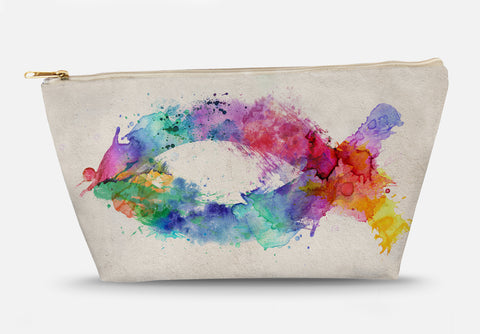 Fish Symbol of Color Accessory Bag